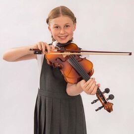 Скрипка Antoni ACV30, розмір 4/4, ученическая для 11-12 лет и взрослого, фото 4