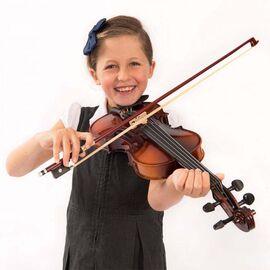 Скрипка Antoni ACV32, размер 1/2, ученическая для 7-9 лет, фото 5