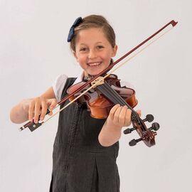 Скрипка Antoni ACV34, размер 1/8, ученическая для 4-6 лет, фото 4