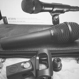 Студийный микрофон Audio Technica AT2010, конденсаторный, кардиоидный, фото 7
