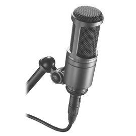 Студийный микрофон Audio Technica AT2020, конденсаторный, кардиоидный, фото 2