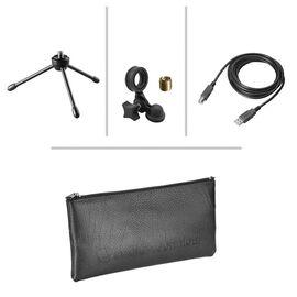 Студийный микрофон Audio Technica AT2020USB+, конденсаторный, кардиоидный, фото 6