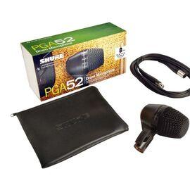 Инструментальный микрофон Shure PGA52 XLR, динамический, кардиоидный, фото 5