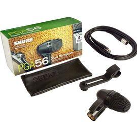 Инструментальный микрофон Shure PGA56 XLR, динамический, кардиоидный, фото 6