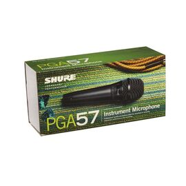 Инструментальный микрофон Shure PGA57 XLR, динамический, кардиоидный, фото 5