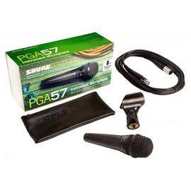 Инструментальный микрофон Shure PGA57 XLR, динамический, кардиоидный, фото 6