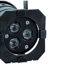 Светодиодный прожектор Eurolite LED PAR-16 3200K 3x3W Spot bk, фото 4