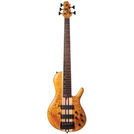 Бас-гитара CORT A5 Plus SC (Amber Open Pore), фото
