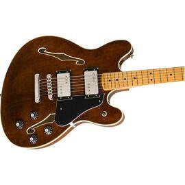 Полуакустическая гитара SQUIER by Fender CLASSIC VIBE STARCASTER MAPLE FINGERBOARD WALNUT, фото 3