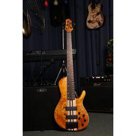 Бас-гитара CORT A5 Plus SC (Amber Open Pore), фото 6