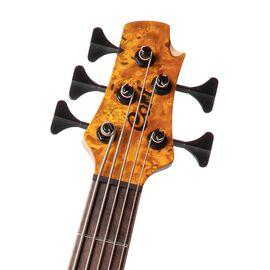 Бас-гитара CORT A5 Plus SC (Amber Open Pore), фото 5