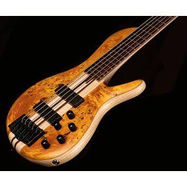 Бас-гитара CORT A5 Plus SC (Amber Open Pore), фото 2
