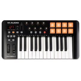 MIDI клавиатура M-AUDIO Oxygen 25 MK IV, фото