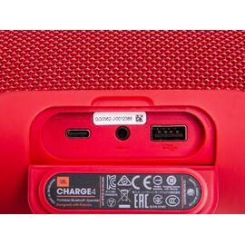 Портативна акустика JBL Charge 4 Red (JBLCHARGE4RED), Цвет: Красный , фото 7