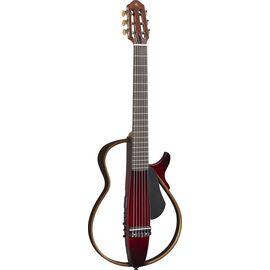 Silent гитара YAMAHA SLG200N (Crimson Red Burst), фото