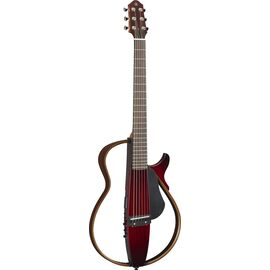 Silent гитара YAMAHA SLG200S (Crimson Red Burst), фото