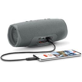 Портативна акустика JBL Charge 4 Grey (JBLCHARGE4GRY), Цвет: Серый, фото 6