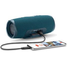 Портативна акустика JBL Charge 4 Blue (JBLCHARGE4BLU), Цвет: Синий , фото 7