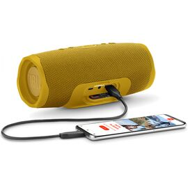 Портативна акустика JBL Charge 4 Yellow / Gold (JBLCHARGE4YEL), Цвет: Желтый, фото 2