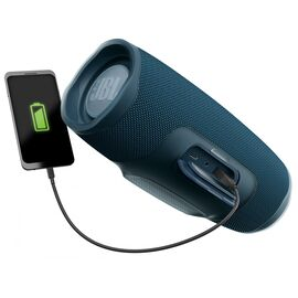 Портативна акустика JBL Charge 4 Blue (JBLCHARGE4BLU), Цвет: Синий , фото 10