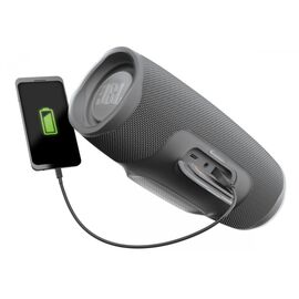 Портативна акустика JBL Charge 4 Grey (JBLCHARGE4GRY), Цвет: Серый, фото 5