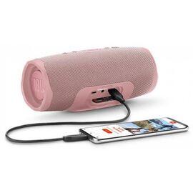Портативна акустика JBL Charge 4 Pink (JBLCHARGE4PINK), Цвет: Розовый, фото 7