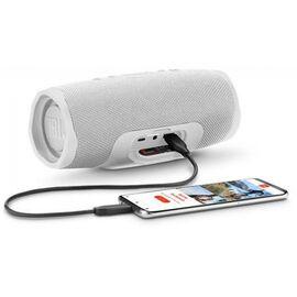 Портативна акустика JBL Charge 4 White (JBLCHARGE4WHT), Цвет: Белый , фото 9