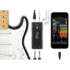 Аудиоинтерфейс для iOS/Mac/PC IK MULTIMEDIA iRIG HD2, фото 5