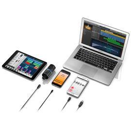 USB мікрофон для iPhone, iPad, iPod touch, Mac, ПК і Android IK MULTIMEDIA iRig Mic Studio (Black), фото 4