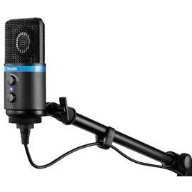 USB мікрофон для iPhone, iPad, iPod touch, Mac, ПК і Android IK MULTIMEDIA iRig Mic Studio (Black), фото 7