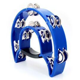 Тамбурин MAXTONE 818 BL Dual Power Tambourine (Blue), фото