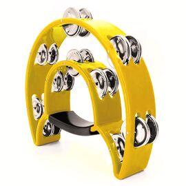 Тамбурин MAXTONE 818 YL Dual Power Tambourine (Yellow), фото