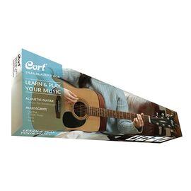 Акустична гітара c чохлом і аксесуарами CORT TRAILBLAZER PACK CAP-810 (Open Pore), фото 2