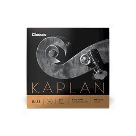 Струны для контрабаса D`ADDARIO K610 3/4M KAPLAN DOUBLE BASS 3/4 MEDIUM, фото