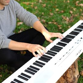 Сценічне цифрове піаніно ALESIS RECITAL WHITE, фото 7