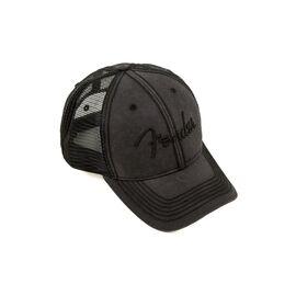 Кепка FENDER BLACKOUT TRUCKER HAT, фото