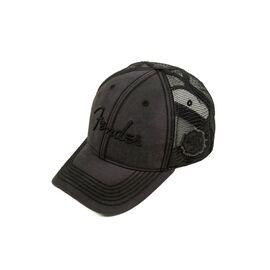 Кепка FENDER BLACKOUT TRUCKER HAT, фото 3