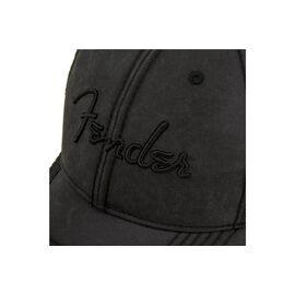 Кепка FENDER BLACKOUT TRUCKER HAT, фото 4