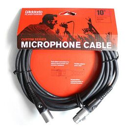 Кабель D`Addario PW-M-10 Custom Series Microphone Cable (3m), фото 5