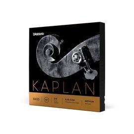Струны для контрабаса D`ADDARIO K610 3/4M KAPLAN DOUBLE BASS 3/4 MEDIUM, фото 2