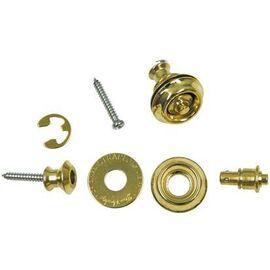Стреплоки для ремней DUNLOP SLS1032BR DUAL DESIGN BRASS, фото 5