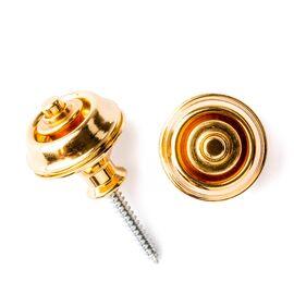 Стреплоки для ремней DUNLOP SLS1034G DUAL DESIGN GOLD, фото 2