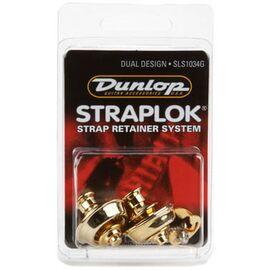 Стреплоки для ремней DUNLOP SLS1034G DUAL DESIGN GOLD, фото 3