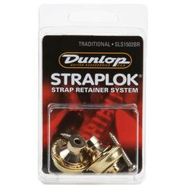 Стреплоки для ремней DUNLOP SLS1502BR TRADITIONAL DESIGN BRASS, фото 4