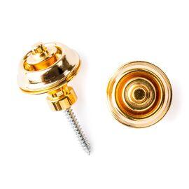 Стреплоки для ремней DUNLOP SLS1504G TRADITIONAL DESIGN GOLD, фото 2