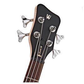 Бас-гитара (1584380300CAASHAWW) WARWICK RockBass Corvette $$, 4-String (Nirvana Black Transparent Satin), фото 4