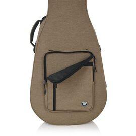Кейс для 12-струнної акустичної гітари GATOR GTR-DREAD12-TAN Tan Transit Lightweight Dreadnought Guitar Case, фото 3
