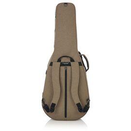 Кейс для 12-струнної акустичної гітари GATOR GTR-DREAD12-TAN Tan Transit Lightweight Dreadnought Guitar Case, фото 7