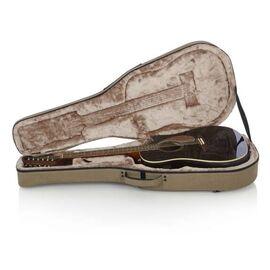 Кейс для 12-струнної акустичної гітари GATOR GTR-DREAD12-TAN Tan Transit Lightweight Dreadnought Guitar Case, фото 12