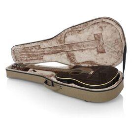 Кейс для 12-струнної акустичної гітари GATOR GTR-DREAD12-TAN Tan Transit Lightweight Dreadnought Guitar Case, фото 13